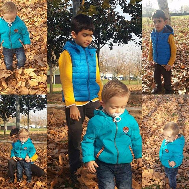 τα παιδιά Abdülkadir Enes (11) και Halil Münir (2)
